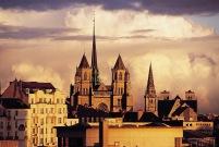 Vu de la Cathédrale Saint Michel à Dijon