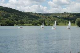 Voile au Lac Kir à Dijon