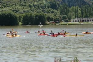 Canoë au Lac Kir à Dijon